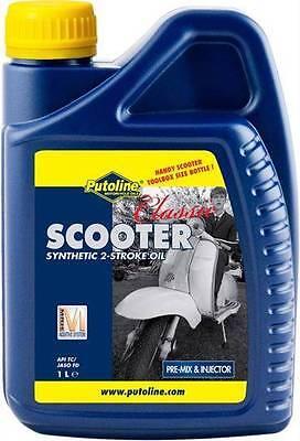 Putoline Classic Scooter Synthetic 2 Stroke Oil 2T Vespa LML Lambretta PX GS Li