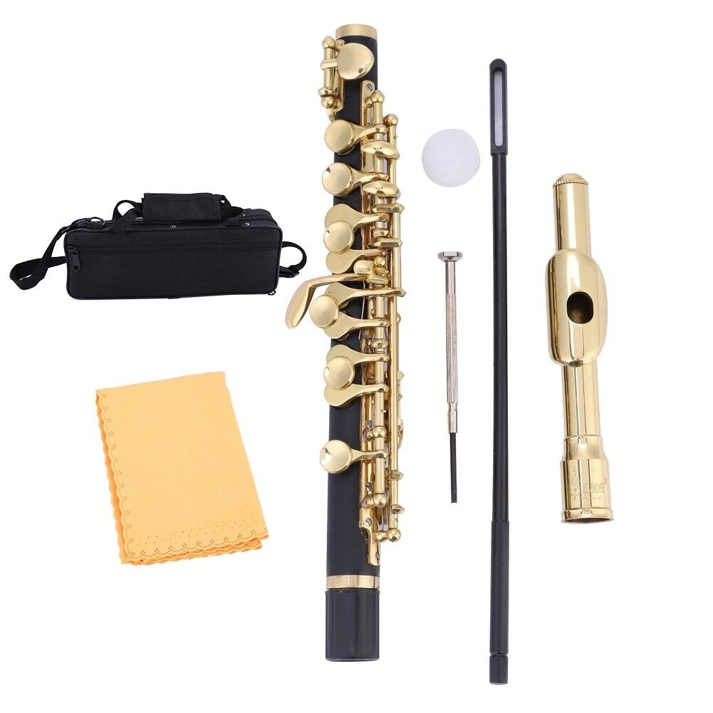 seleziona tra le nuove marche come Piccolo Piccolo Piccolo Flauto Ottavino Half-Dimensione C Key Cupronickel con scatola  ci sono più marche di prodotti di alta qualità