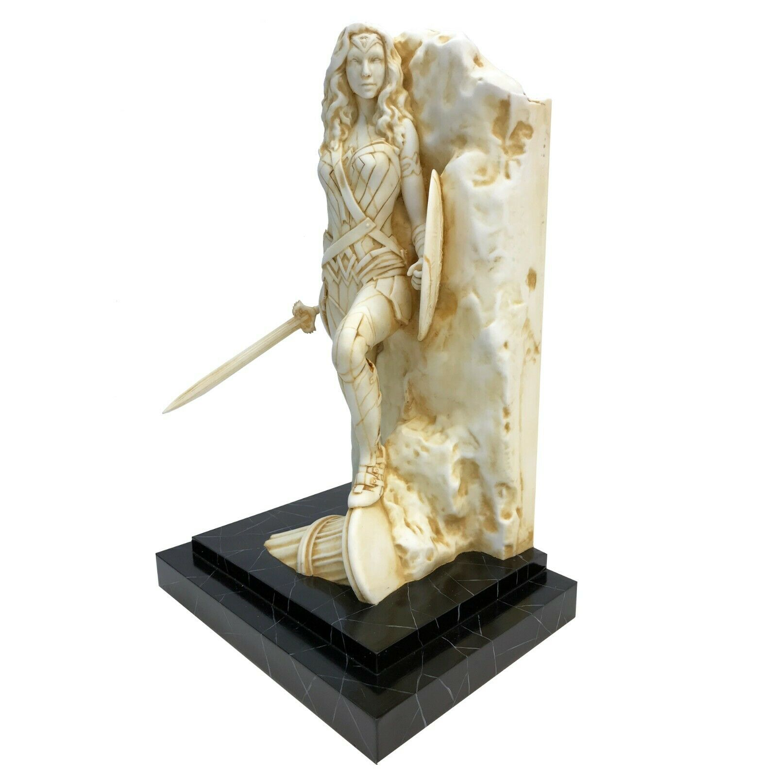 Wonder Woman Neo-Classical Marble Finish Statue Factory Entertainment IN STOCK