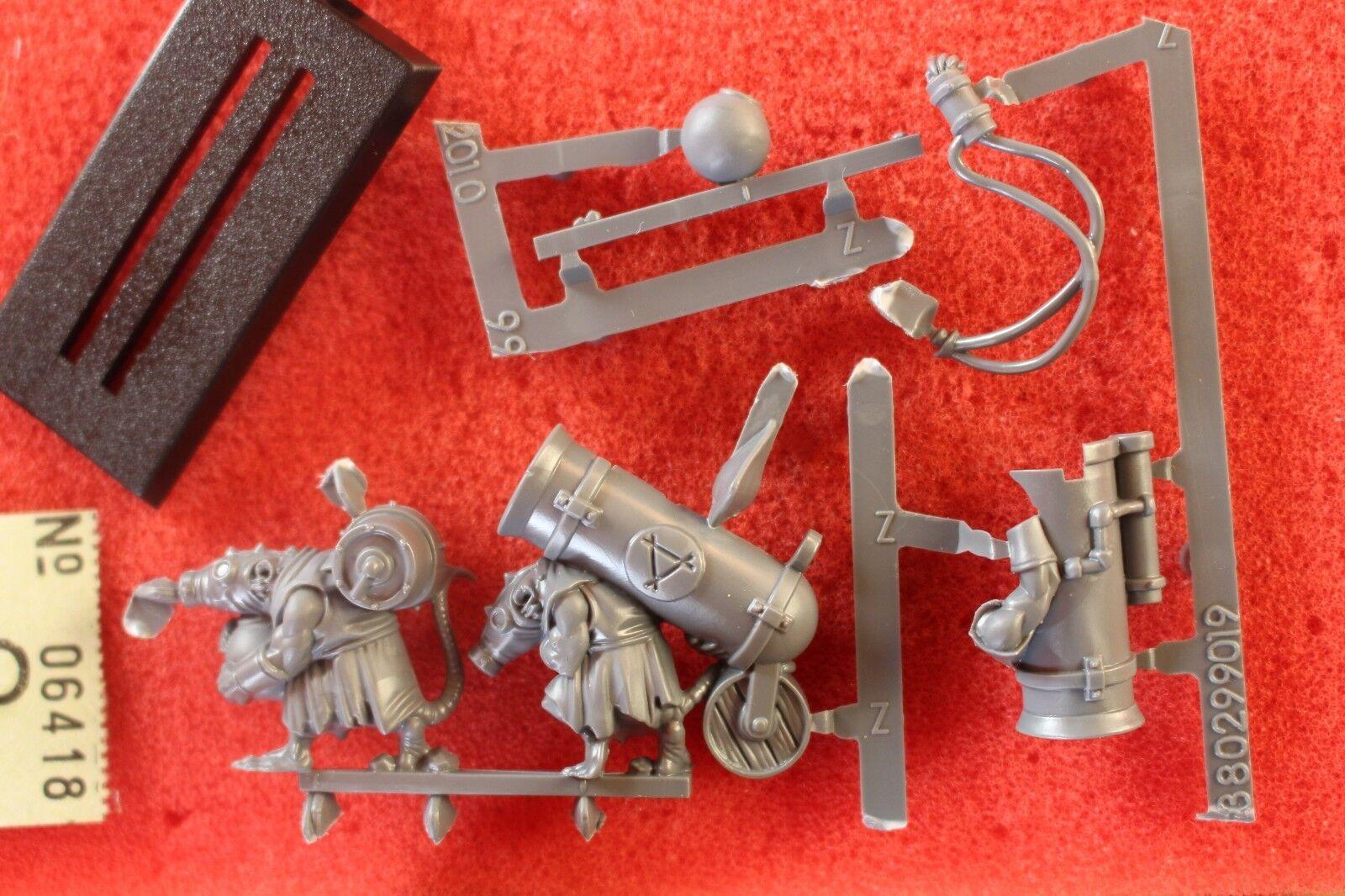 Games Workshop Warhammer Skaven Poisoned Wind Mortar Team Artillery BNOS New OOP