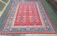 Vintage East Turkestan Khotan Pomegranate Carpet