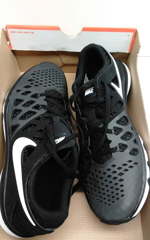 Mens Nike Train Speed 4 Shoes Size 11 NIB $100 Black White 843937 009 NEW W/BOX