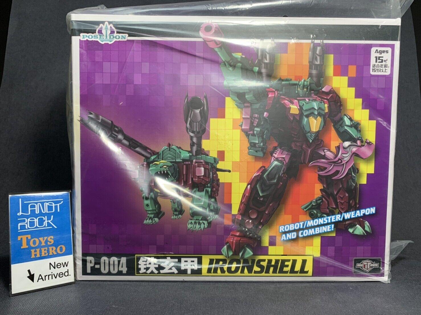 [Toys Hero] In Hand Transformers TFC P-004 IronShell Poseidon combine