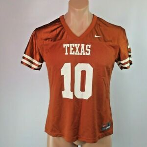 online store a04af 4378f University of Texas Longhorns Nike #10 Football Jersey Youth ...