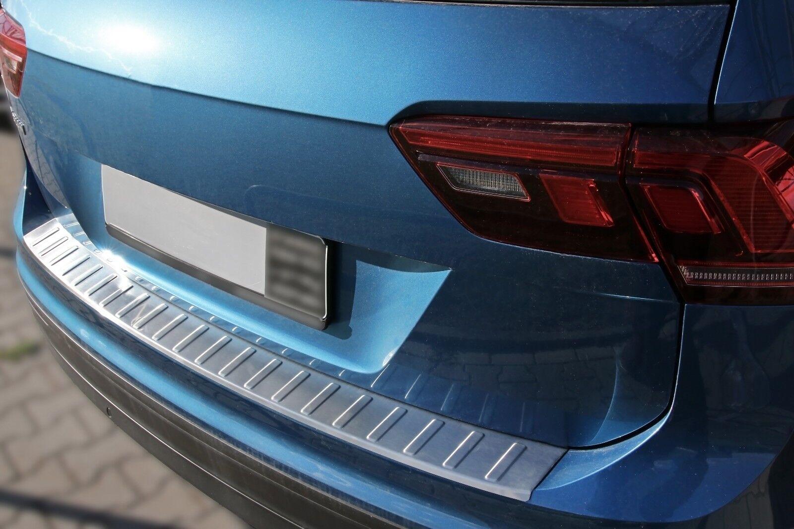 mit ABKANTUNG phil trade Edelstahl MATT Ladekantenschutz kompatibel f/ür Ford Edge 2016-2018