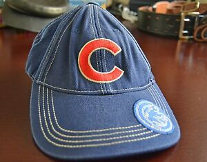 Fan-Favorite-Youth-Chicago-Cubs-Baseball-Cap-Blue-Denim