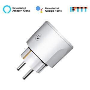 WIFI-Smart-Socket-Phone-Remote-Control-Outlet-Amazon-Alexa-Google-Home-EU-Plug