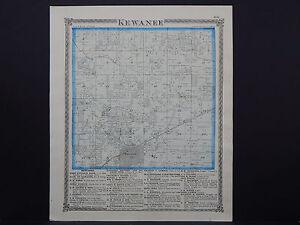 Kewanee Illinois Map.Illinois Henry County Map 1874 Township Of Kewanee L16 03 Ebay