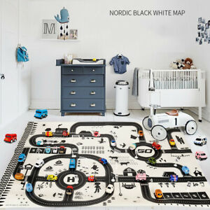 Kids-Play-Mat-City-Road-Buildings-Parking-Map-Game-Educational-Toys-Baby-Gyms