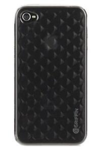 Griffin-GB01775-Motif-iphone-4-Smoke-Diamond-Dark-Clochette-TPU-Etui-de-Protection-Noir
