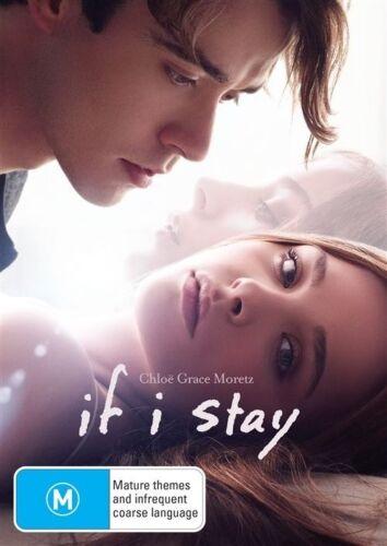 1 of 1 - If I Stay (Dvd) Drama, Romance Chloë Grace Moretz, Jamie Blackley Film