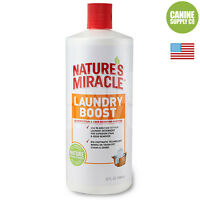 Nature's Miracle Laundry Boost Pet Stain & Odor Remover Additive For Dogs, 32-oz