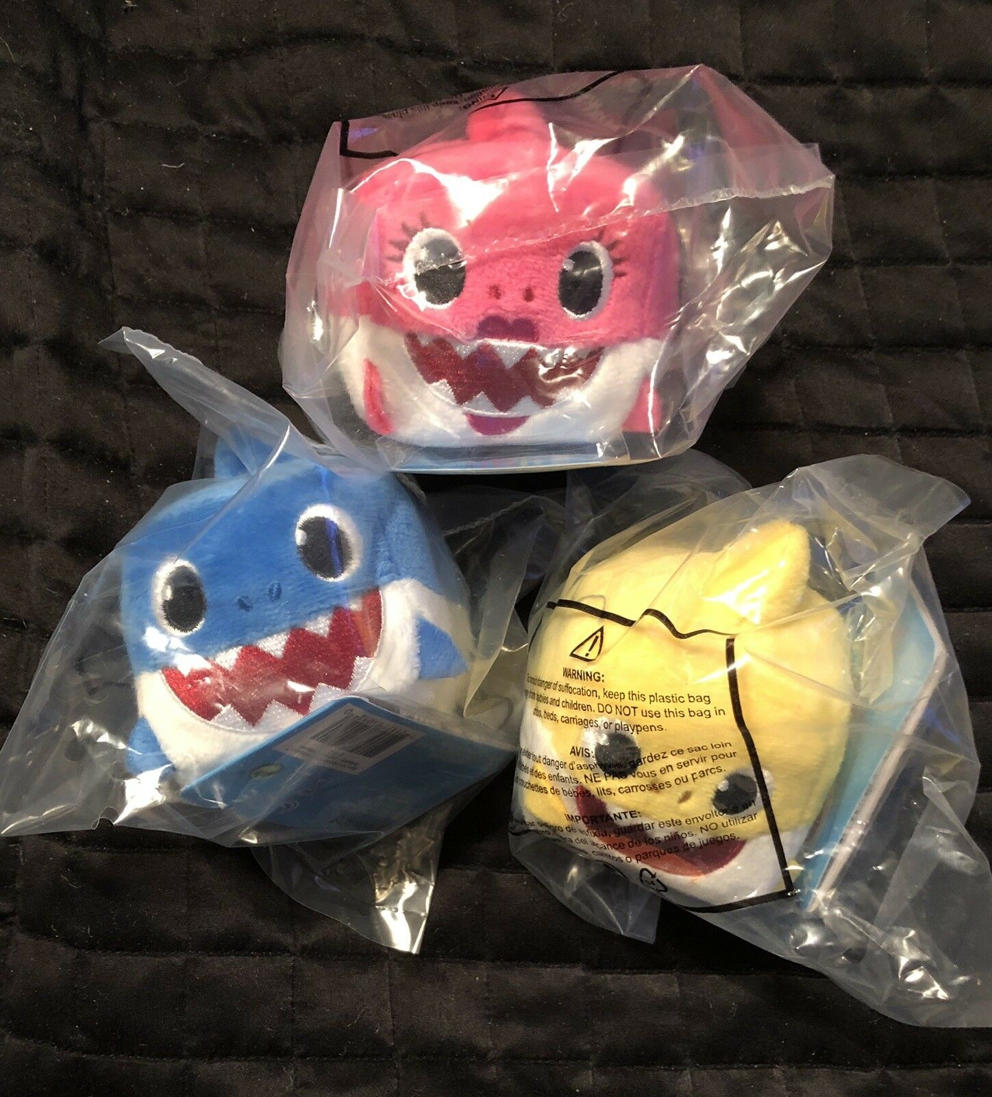 WowWee Pinkfong Baby Shark Official Plush Song Cube Set Of 3