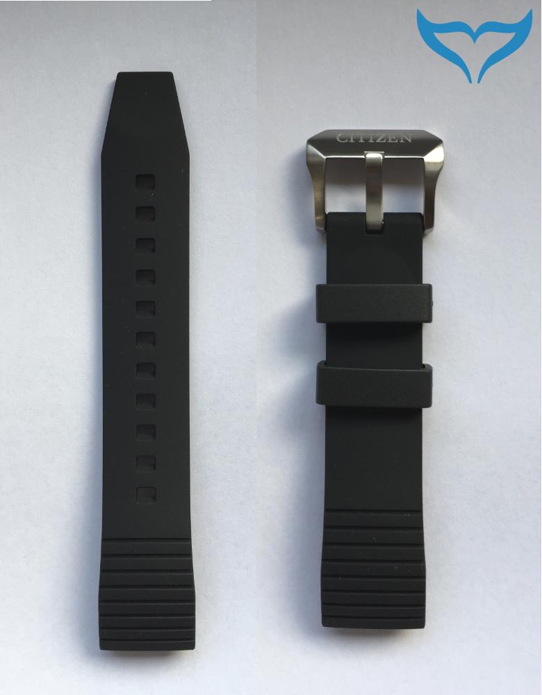 Citizen Promaster Land Altichron Armband BN4021 BN4026 Band schwarz 59-T50829 Ec