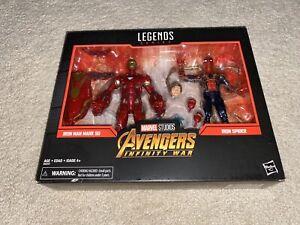 IRON MAN MARK 50 /& SPIDER Marvel Studios Legends Avengers Infinity 2Pack TARGET