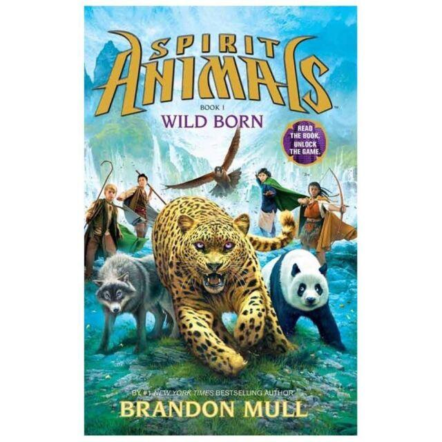 Spirit Animals: Book 1: Wild Born, Mull, Brandon,0545522439, Book, Good