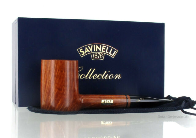 Pipe Savinelli Collection Pipe of The Year POY 2017 Natural Clear Limited 10/50