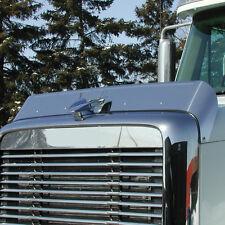 Freightliner Coronado 2003-2010 Stainless Steel Hood Shield Bug Deflector