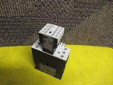 KLOCKNER MOELLER CONTACTOR DIL MC25-10 24-27Vdc 40A AMP DILM(C)25 w/DIL A-XHIC22