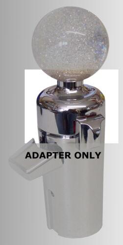 ShifTopperz Custom Shifter knob adapter for 13 15 18 speed trucks Peterbilt w//sp