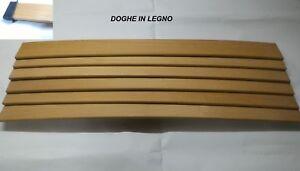 Doghe In Legno Per Letti : Kit nove doghe legno per ricambio reti da letto singole