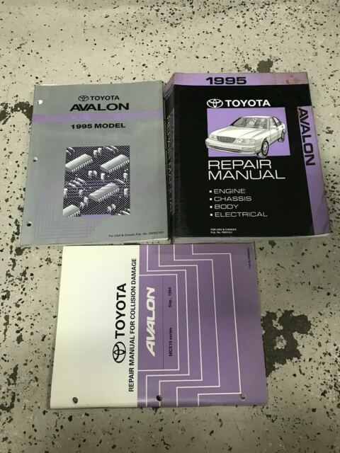 1995 Toyota Avalon Models Service Repair Workshop Shop Manual Set Oem W Ewd  U0026 Co