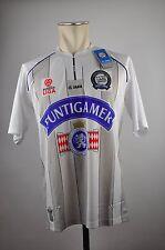 2011-12 SK Sturm Graz Trikot Home Gr. M Jako Österreich weiß Puntigamer