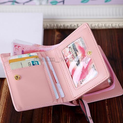 Mädchen Cute Cartoon Geldbörse Kreditkarte Mini Wallet