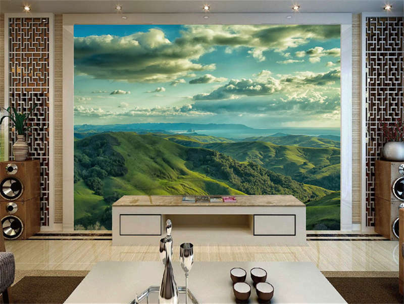Cambrian Hills Nature Full Wall Mural Photo Wallpaper Print Kids Home 3D Decal