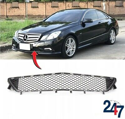 NEW GENUINE MERCEDES BENZ MB E CLASS COUPE W207 FRONT BUMPER CENTER GRILLE
