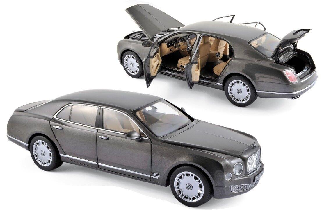 Minichamps Bentley Mulsanne 2010 1 18 Brodagar gris