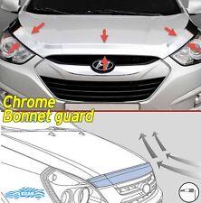 Chrome Bonnet Guard Garnish Deflector K-890 For Hyundai 2010-2015 Tucson iX ix35