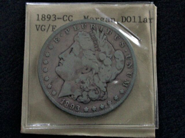 1890-CC Morgan Silver Dollar, Hard to Find $1 Carson City