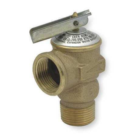 CASH ACME FWL-2 Safety Relief Valve,3//4In,150 psi,Bronze