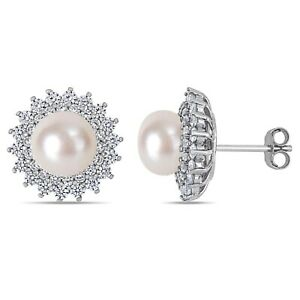 Haylee-Jewels-Sterling-Silver-Cultured-FW-Pearl-amp-CZ-Floral-Halo-Stud-Earrings