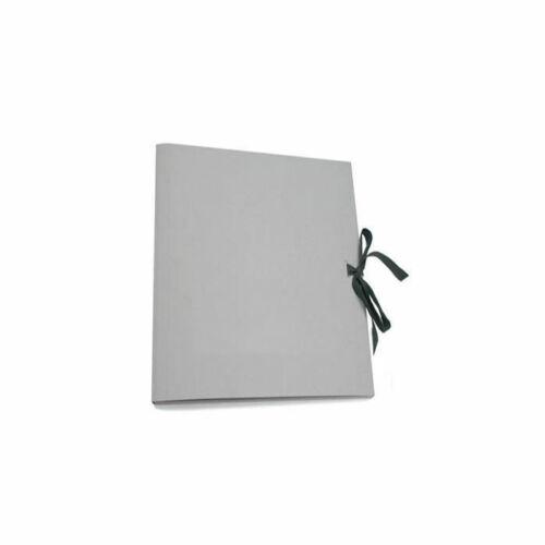 5er-Pack Sammelmappe aus Graukarton Din A 3 für Ordnung in den Kunstwerken