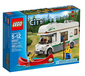 LEGO 60057 Camper Van with canoe - 100% Complete with Box ...