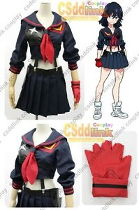 Kill-la-Kill-Matoi-Ryuko-sailor-uniform-Senketsu-cosplay-costume