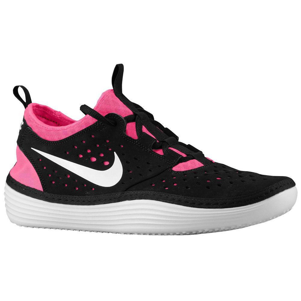 Nike solarsoft costa in scarpe da ginnastica rosa uomini scarpe neri / rosa ginnastica 631389-016 dimensioni 13 nuovi 4f8abc
