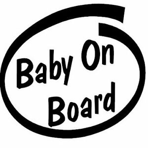 Baby a Bordo Adesivo Decalcomania