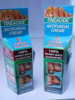 Dr. Blaine's Tineacide Antifungal Cream - 1.25 Oz With Bonus Nail Clipper(2pks)