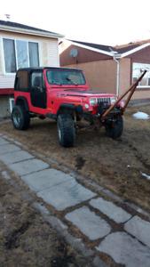 1995 YJ Jeep Project