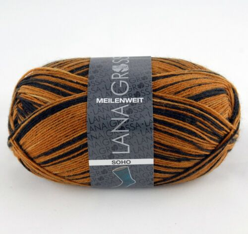 Lana Grossa millas soho 100g calcetines lana