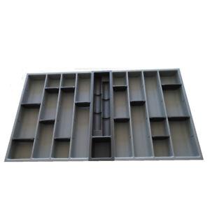 Dettagli su PORTAPOSATE 90 cucina LUBE CUCINE grigio cassettiera con vani  regolabili PP90-R