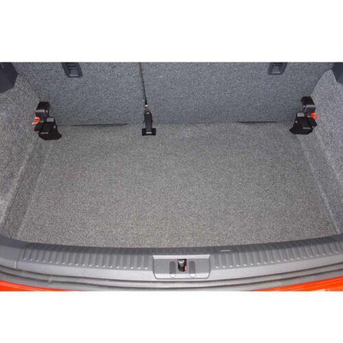 Kofferraum Wanne Schale Matte für VW Polo 6R 2009 Boden tief
