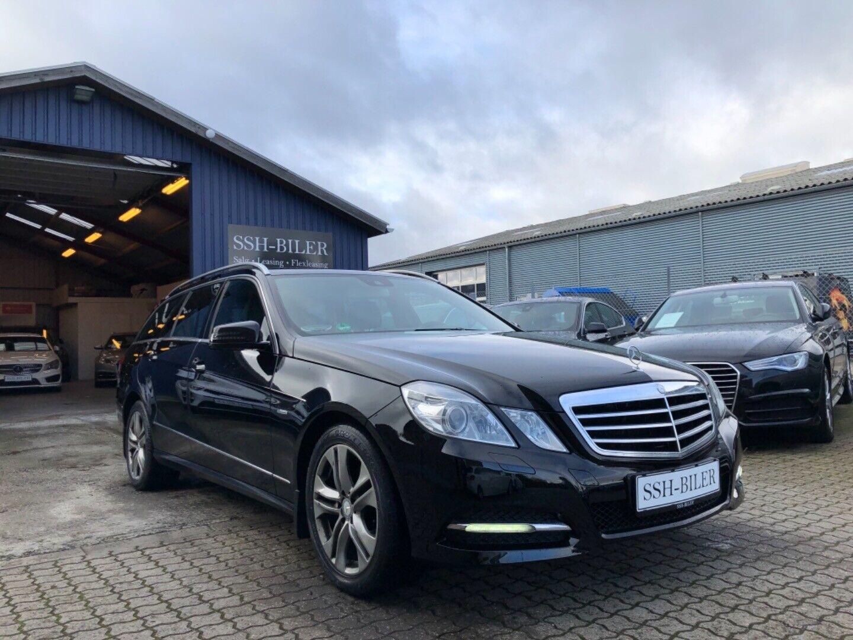 Mercedes E220 2,2 CDi Avantgarde stc. aut. BE 5d - 144.995 kr.