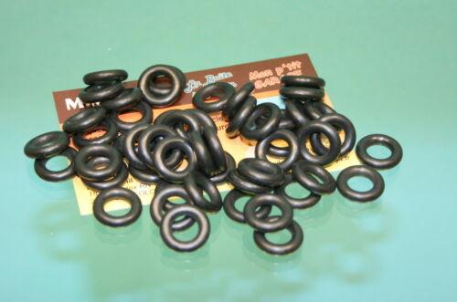 837//050 500 25 Lot de 50 pneus 15//8 noirs lisses pour Dinky Toys série 24