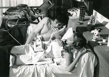ALAIN DELON SYDNE ROME LA RACE DES SEIGNEURS 1974 VINTAGE PHOTO ORIGINAL #2