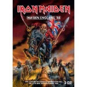 IRON-MAIDEN-Maiden-England-039-88-2-DVD-Hard-amp-Heavy-Heavy-Metal-Nuovo