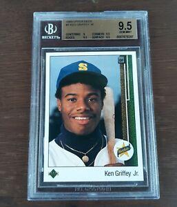 1989 Ken Griffey Jr. Upper Deck #1 (RC) Rookie BGS 9.5 Gem Mint